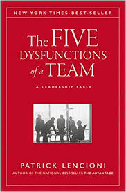 The Five Disfunctioins of a Team Book Cover